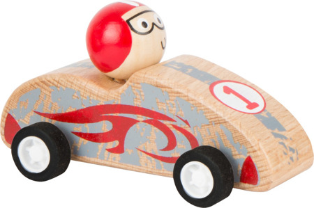 Red Pull-Back Race Car