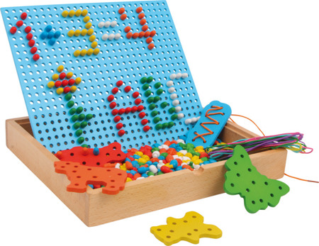 Pin-and-Thread-Puzzle